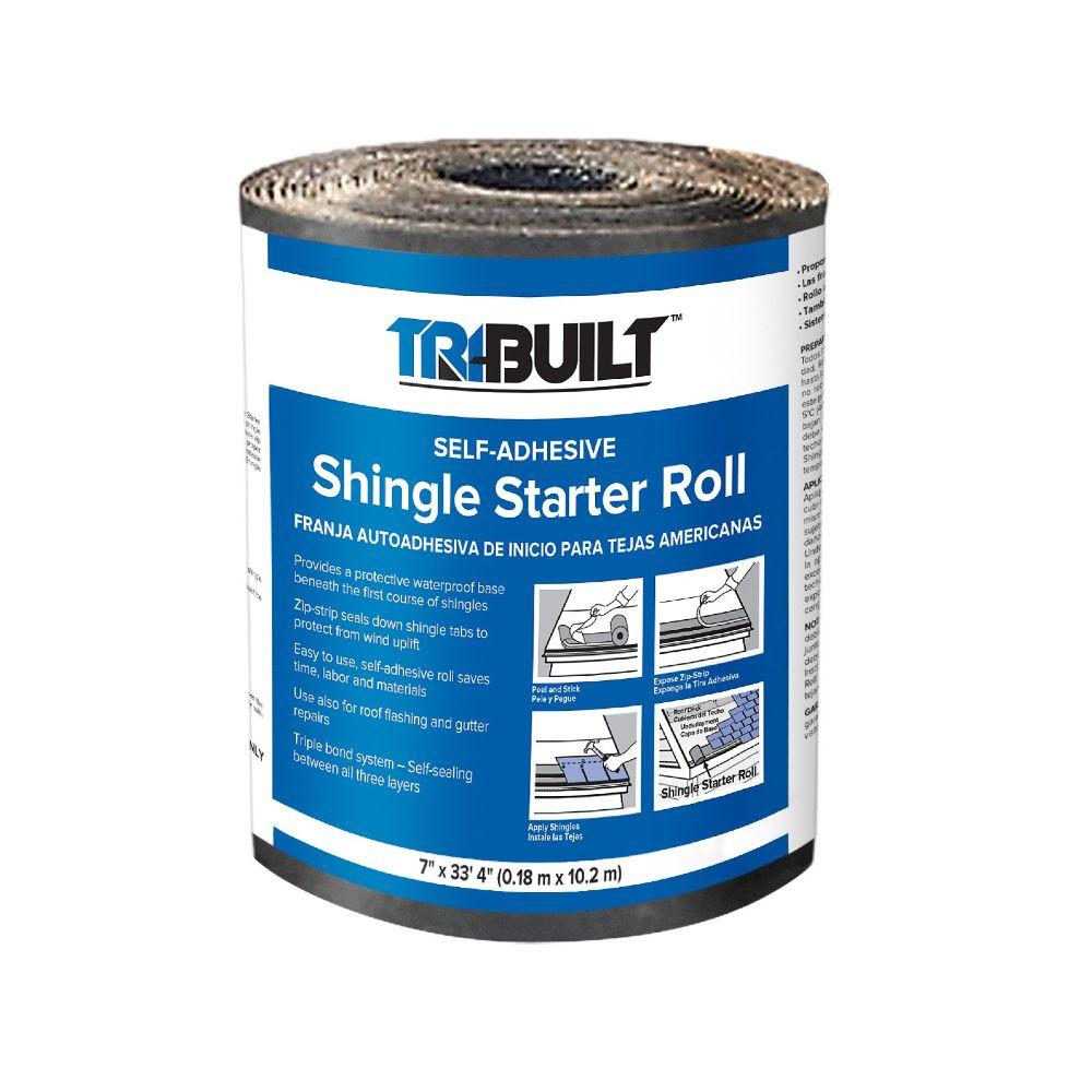 "TRI-BUILT 7.2"" x 33.3' Shingle Starter Roll"