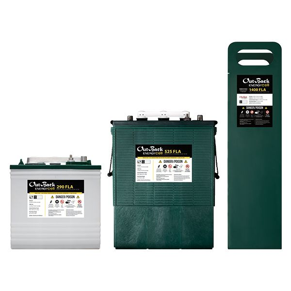 OutBack Power 48v EnergyCell 525FLA Flooded Lead Acid Battery