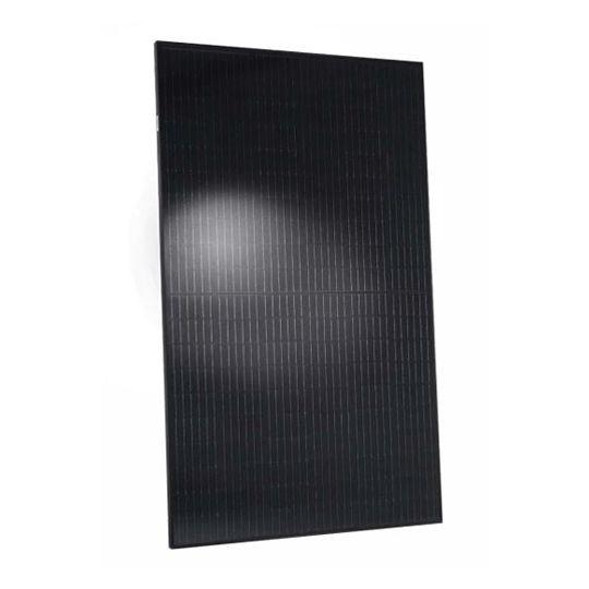 Hanwha Q CELLS USA 40 mm 340 Watt Q.PEAK DUO BLK-G6+/AC Monocrystalline Solar Panel with All Black Frame & Enphase IQ 7+ Microinverter