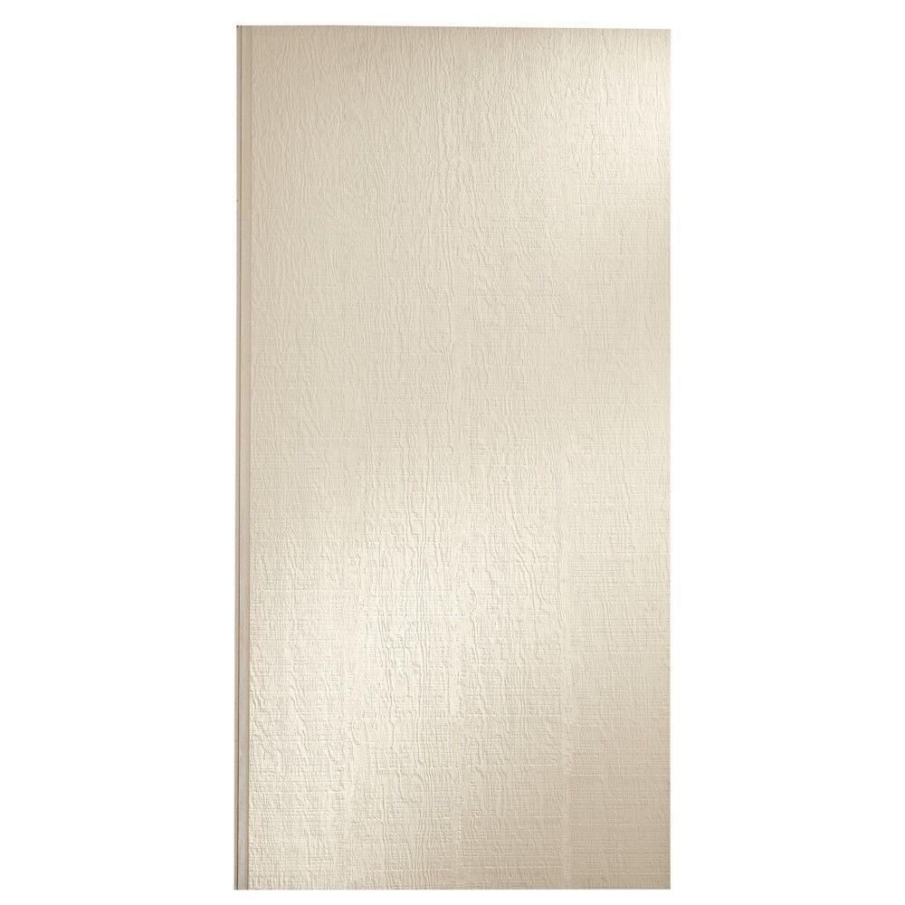 "LP SmartSide 3/8"" 4' x 10' 38 Series Cedar Texture Primed Panel No Groove Shiplap Edge Engineered Wood Siding"