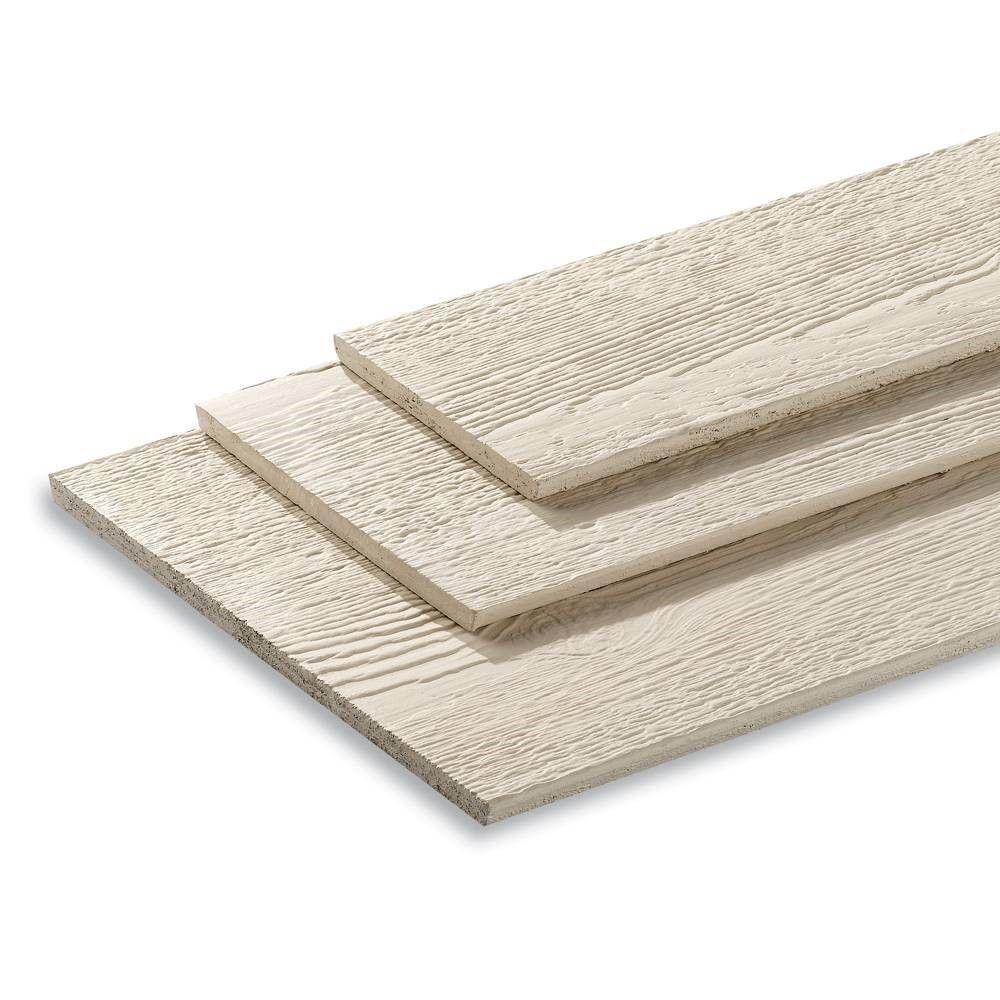 """LP SmartSide 3/8"""" 6"""" x 16' 38 Series Cedar Texture Primed Lap Engineered Wood Siding"""