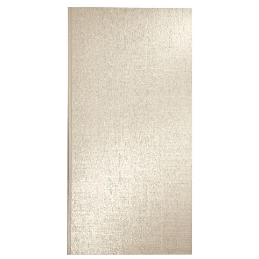 "LP SmartSide 3/8"" 4' x 8' 38 Series Cedar Texture Primed Panel No Groove Square Edge Engineered Wood Siding"
