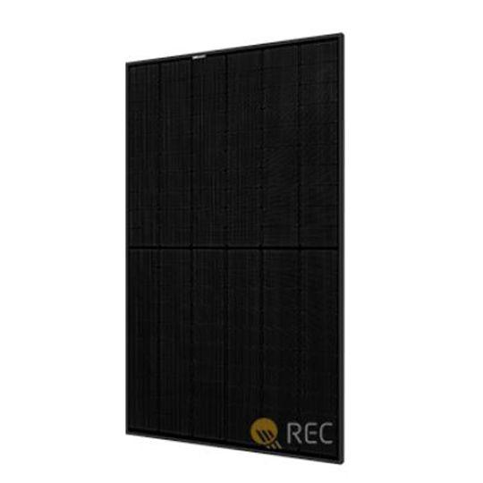 REC Solar Holdings 360 Watt Alpha Black Series HJT (Heterojunction) Solar Panel