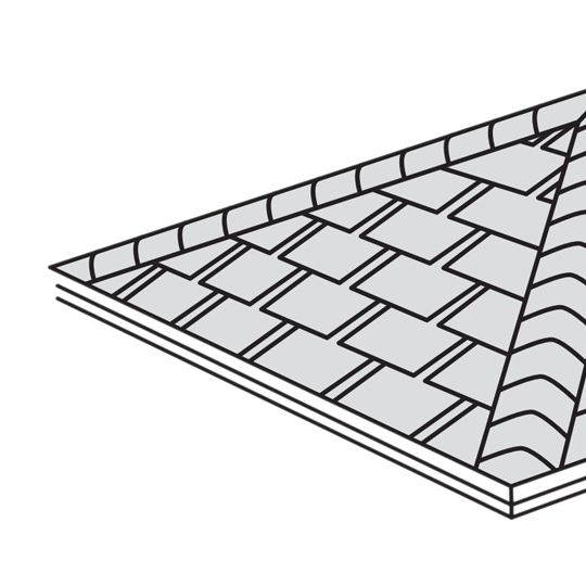 Atlas Roofing StormMaster® Hip & Ridge Shingles with Core4™ Weathered Wood