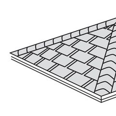 Atlas Roofing StormMaster® Hip & Ridge Shingles with Core4™
