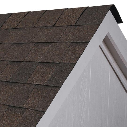 Atlas Roofing Pro-Cut® Hip & Ridge Shingles with Scotchgard™ Protector & Alignment Notches Weathered Wood